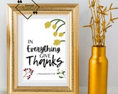 Bible Verse Printable, Fall Décor Bedroom, Wall Décor Over The Bed, Trendy Wall Décor For Home Or Office, Download Yours Today! ↓↓↓