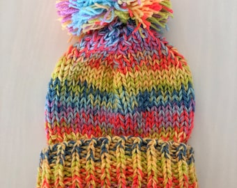 Hand Knitting Pattern - The Mabel Beanie