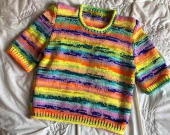 Hand Knitting Pattern - The Ernie Tee
