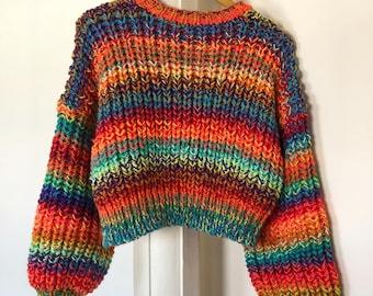 Hand Knitting Pattern - The Atlas Jumper