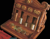 Vintage Desktop Coin Caddy