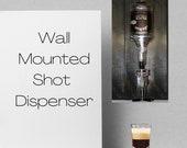 Wall Mounted Single Shot Dispenser