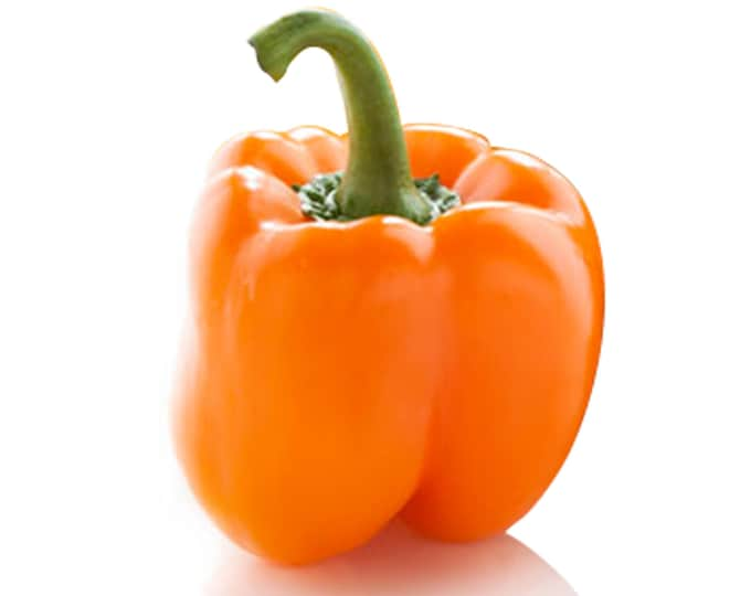 Orange Bell Pepper - RARE heirloom 10 seeds