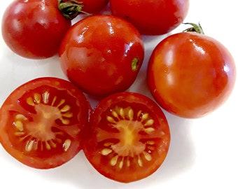 Fox Cherry Tomato - RARE Heirloom 10 seeds