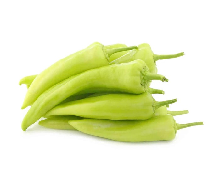 Sweet Banana Pepper - Heirloom 20 seeds