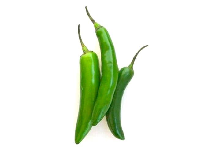 Serrano Hot Pepper - Heirloom 20 seeds