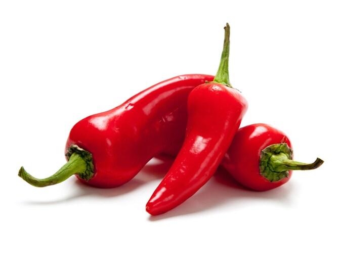 Red Fresno Sweet Pepper - Heirloom 10 Seeds
