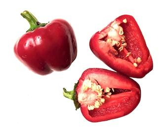 Sheepnose Pimento Sweet Pepper - Heirloom 20 seeds