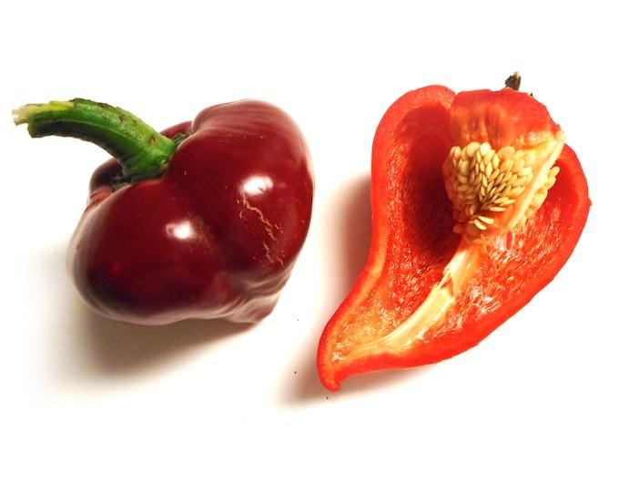 Lesya Sweet Pepper - RARE Heirloom 15 seeds
