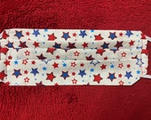 Patriotic Star Face Mask