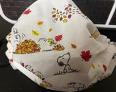 Autumn Snoopy Face mask