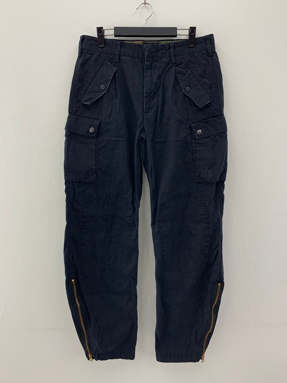 Vintage Alpha Industries Cargo Pants/Tactical/Mili
