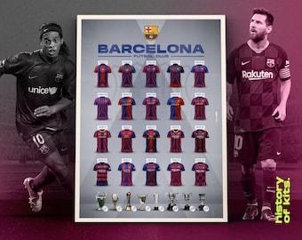 Fc Barcelona Kit Etsy