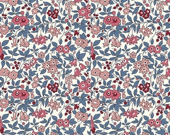 Forget Me Not Blossom C by Liberty Fabrics for Riley Blake