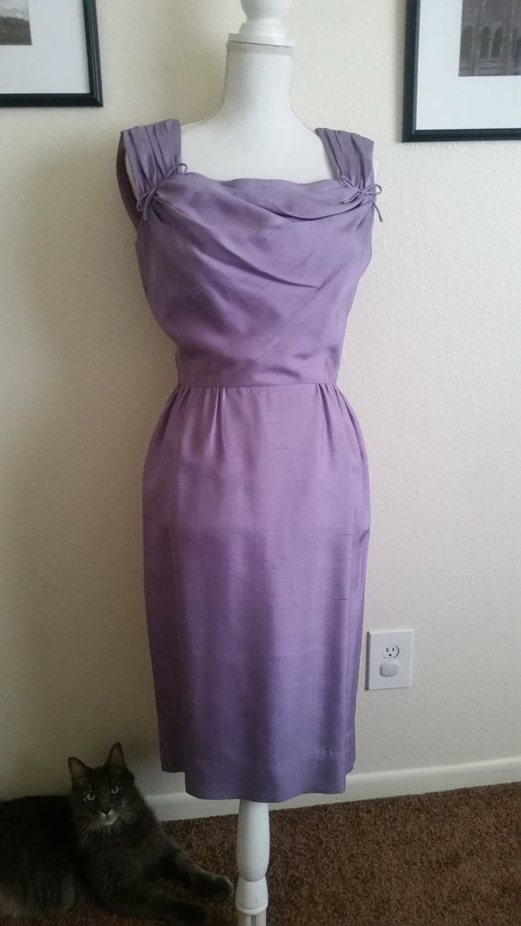 Vintage Lavender Dress