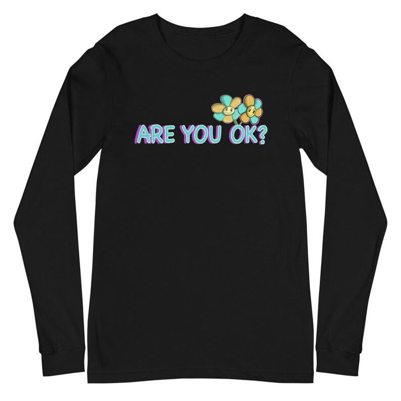 Ist alles in Ordnung bei dir Unisex Langarm Shirt   Etsy