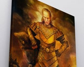 Vigo The Carpathian Canvas Print | Vigo the Cruel from Ghostbusters II Painting Replica Print