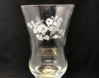 Clear Glass Hummingbird Candle Peg Votive Holder Cup