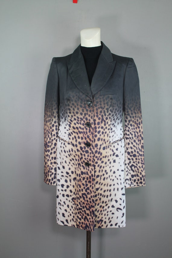 Givenchy - Long Ombre Leopard Blazer