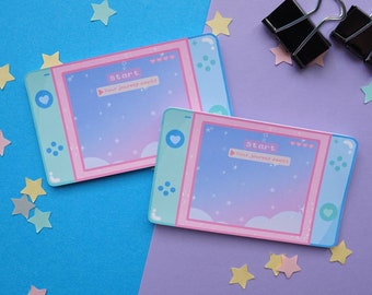 Your Journey Awaits Dreamy Notepad | Gamer Aesthetic Memo Pad Memo Pad | Kawaii Notepads | Reminder Notes | Cute Stationery | Cloud Sky Memo