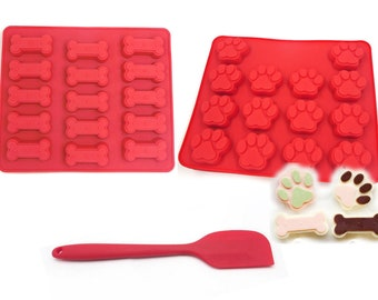 Resin Supplies Clay Shiny Food Grade Mould Dog Paw Self Defense Mold Chocolate