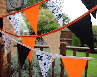 Halloween Fabric Bunting