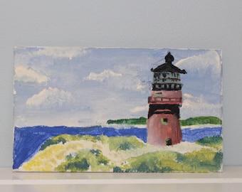 Martha's Vineyard Gay Head Lighthouse Painting
