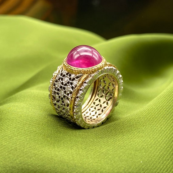 Buccellati ruby ring