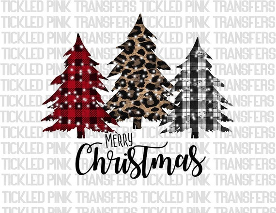 This is My Christmas Tree Pickin\u2019 Shirt Sublimation Print Transfer