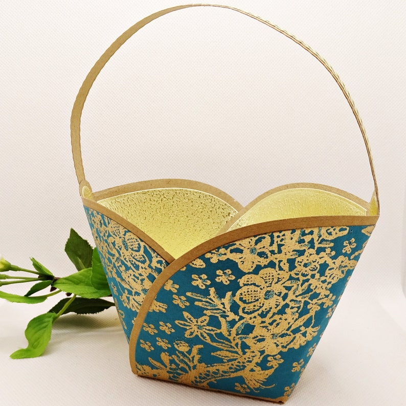 Gift basket gift basket for filling gift wrapping image 0