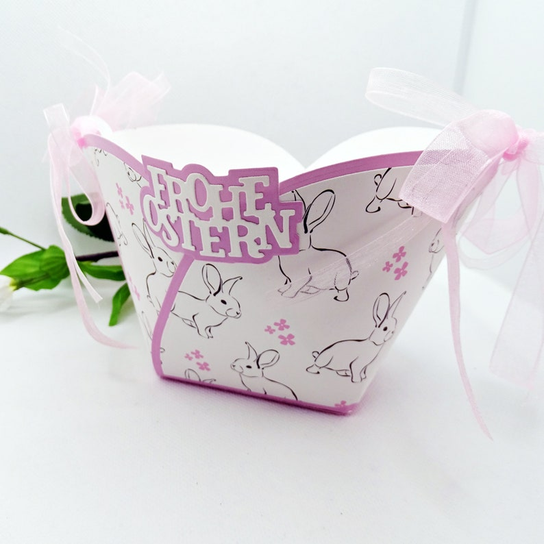 Gift basket Merry Easter Easter gift wrapping image 0
