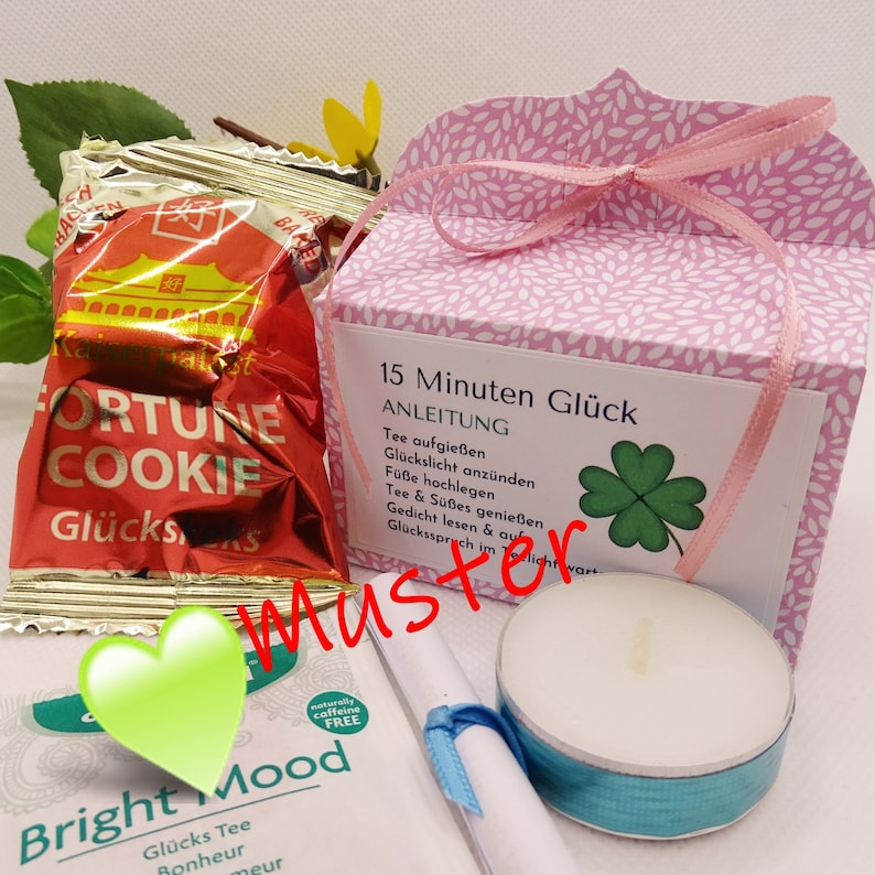 15 Minutes Lucky  Gift Set  Gift Idea  Happiness in the Box image 0
