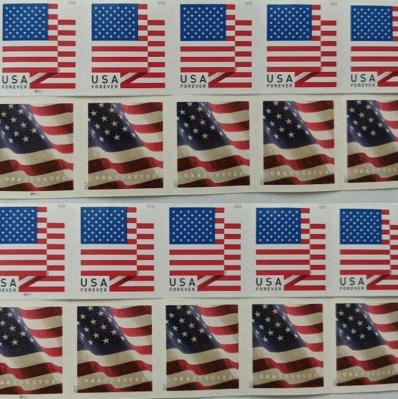 20 Flag Forever First Class Postage Stamp Design May Vary image 0