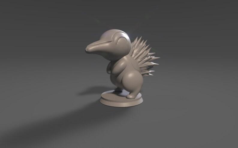 Cyndaquil Figurine 35mm
