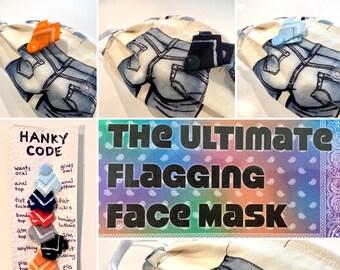 Ultimate Flagging Face Mask - Adjustable NSFW mask