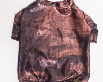 Bronze scales Dog Shirt| Dog Clothing | Dog Fashion