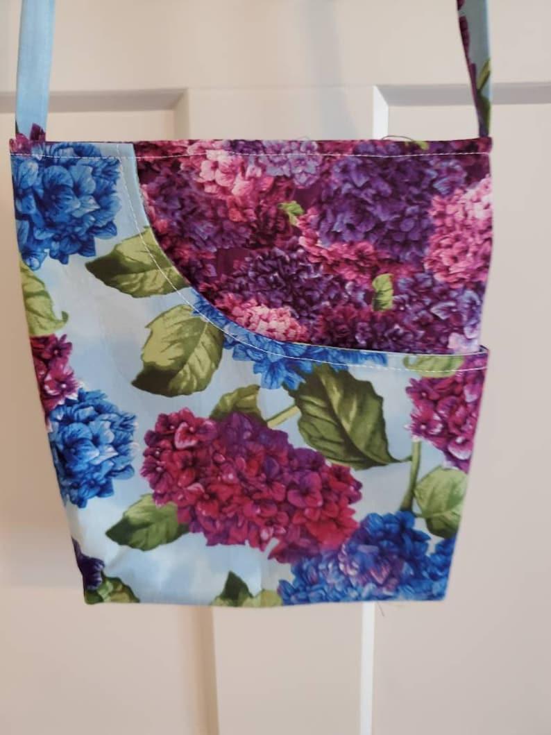 Hydrangea Cross Body Bag