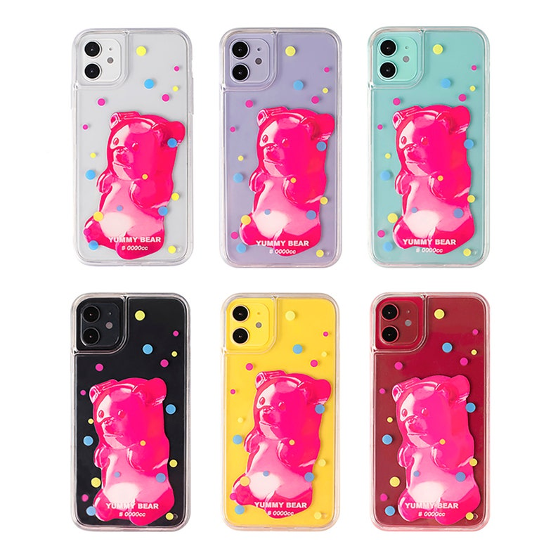 Yummy Bear Iphone Case|Special Design Iphone12Iphone11 pro maxIphone xrIphone xs max Case Art Case Phone Accessories Valentine/'s Day Gift