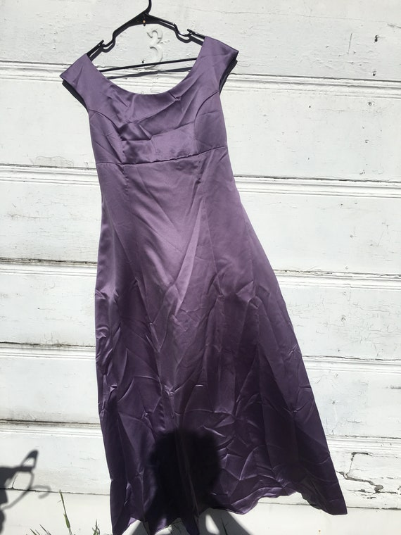 Plus Size Lavender Ball Gown