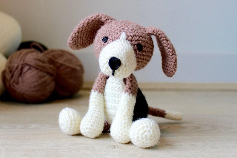 Beagle Dog Crochet Pattern  Crochet Animal Patterns  image 0