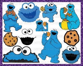 cookie monster svg, sesame street svg, cookie monster, elmo svg, cookie svg, cookie monster cricut, monster svg, cookie birthday
