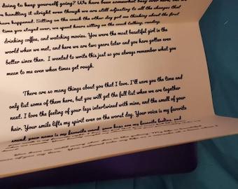 Spencer reid letter