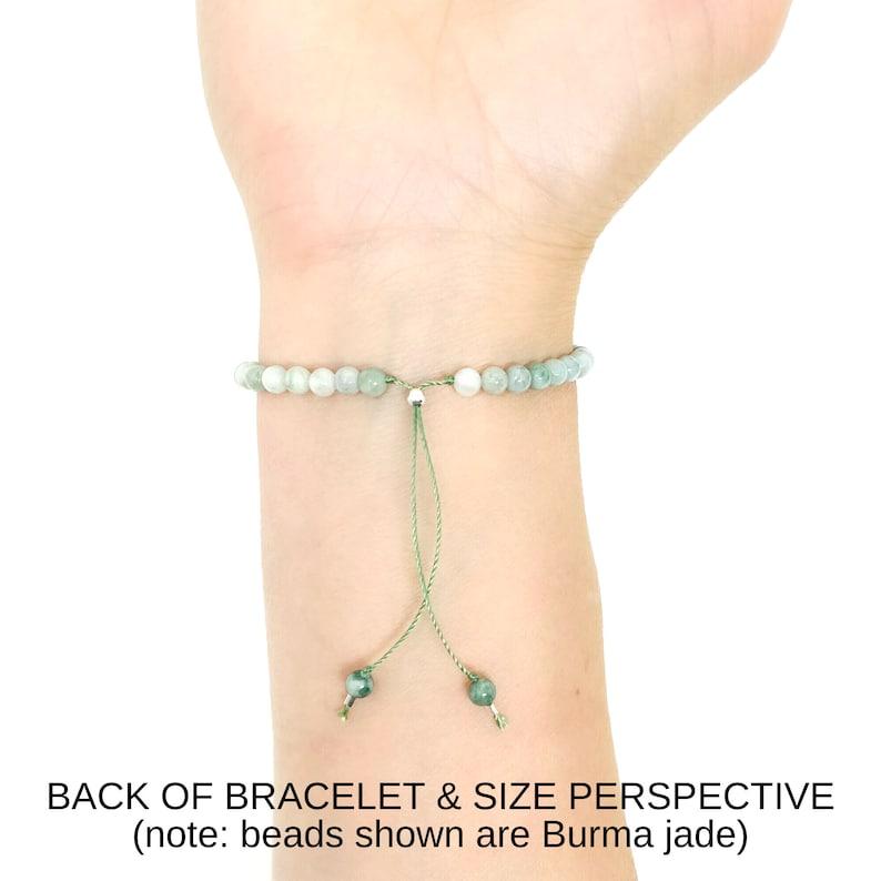 Kunzite Bracelet Eco-friendly Packaging 4mm Kunzite Stone Bracelet