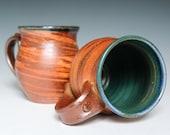 Agateware Pottery Mug