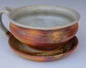 Woodfired Handled Soup Bowl
