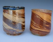 Agateware Woodfired Wine Cup