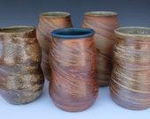 Woodfired Agateware Vase