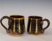 Woodfired Striped Mug