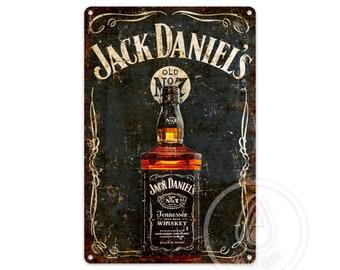 Personnalisé High-ball Jack Daniels jour de Noël Cadeau