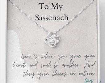 Love Knot,Outlander Gift, Outlander Gift Box, Outlander Jewelry, My Sassenach, Outlander Necklace, Outlander Gift For Wife, Outlander Charm